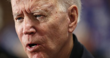 Joe Biden called a 'pervert,' questioned about Ukraine during contentious campaign stop