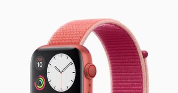 Versão (PRODUCT)RED do Apple Watch Series 5 poderá ser lançada em 2020