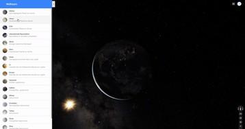В Google Maps появилась новая анимация при переключении между планетами