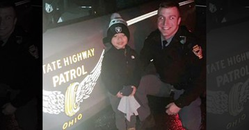 Ohio boy, 3, all smiles after trooper finds his lost toy on turnpike