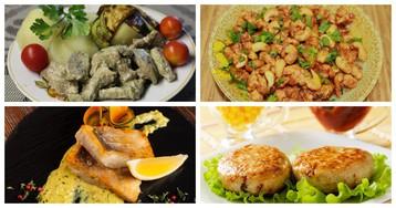 5 быстрых блюд на горячее