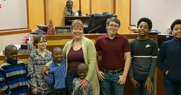 Wisconsin Foster Mom with Two Biological Children Adopts Six Boys