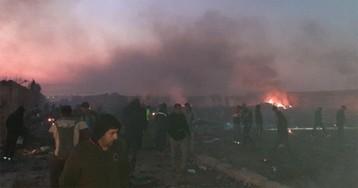 Украинский Boeing 737 разбился в Иране: все пассажиры погибли