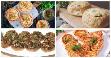 5 оригинальных закусок с грибами