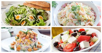 5 оригинальных салатов, которые готовятся молниеносно