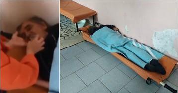 Врачи три дня игнорировали пациента в коридоре
