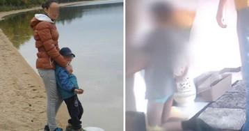 Омского мальчика, которого отчим ставил на гречку, вернули матери