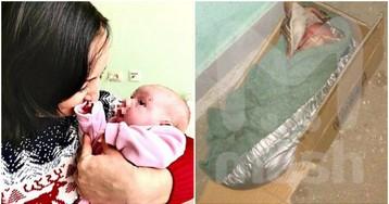 Найденную в коробке новорожденную девочку забрала семья в Мытищах