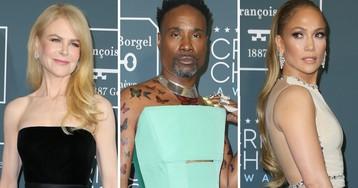Сходят с ума? Платья женщин и мужчин на церемонии Critics' Choice Awards