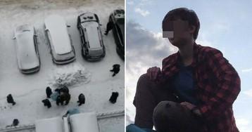 Две школьницы в Новосибирске шагнули вместе из окна, держась за руки