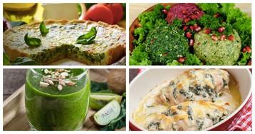 5 блюд из шпината, после приготовления которых вы полюбите эту полезную зелень