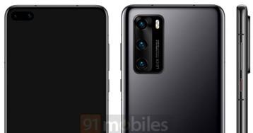 Новые рендеры Huawei P40 Pro демонстрируют смартфон в различных расцветках