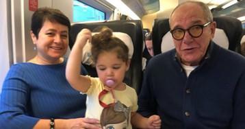 80-летний Виторган впервые показал видео с подросшей годовалой дочкой