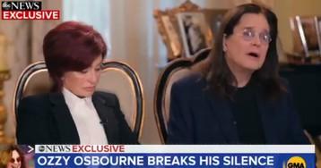 «Это было ужасно:» Оззи Осборн признался, что болеет Паркинсоном