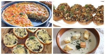 5 блюд из шампиньонов, попробовав которые, вы навсегда полюбите эти грибы