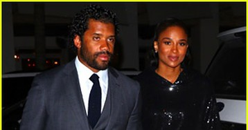 Pregnant Ciara & Husband Russell Wilson Get Dressed Up for Date Night in Miami