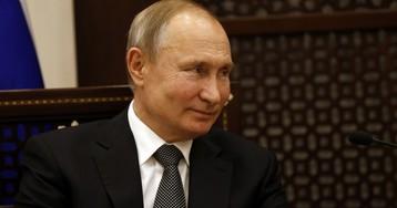 """Путин: поправки к Конституции """"не для того, чтобы продлить полномочия президента"""""""