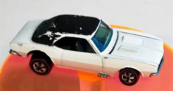 Hot Wheels Camaro valued at the same price as four real Camaros
