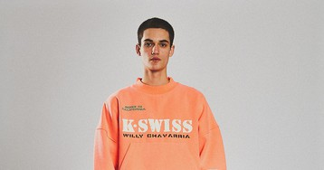Willy Chavarria x K-Swiss Is a Nod to '90s Chicano Tennis Prep