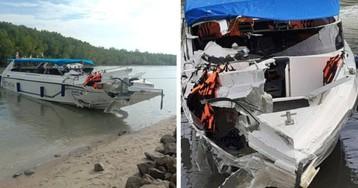 Столкновение двух катеров в Таиланде: в одном были российские туристы