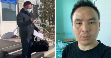 В Чите вылечили от коронавируса китайца, недовольного условиями в больнице