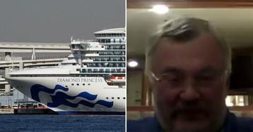 """""""Русские не сдаются"""". Россиянин - о жизни на лайнере с коронавирусом"""