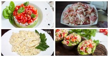Клёвое место: 5 изумительно вкусных салатов с рыбой и морепродуктами