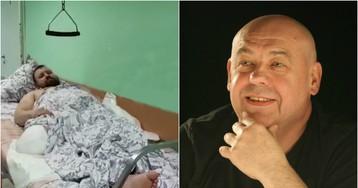 Потерявшего ногу из-за худрука Соловьева мужчину положили в коридоре