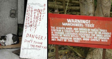 Spooky Signs that Say a lot with their Creepiness