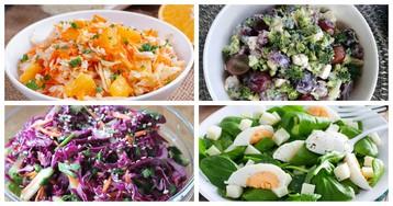 Витаминный заряд: 5 вкусных и полезных салатов без майонеза