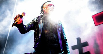 Marilyn Manson: песня Sweet Dreams, Мэрилин Мэнсон без грима и с Дитой фон Тиз