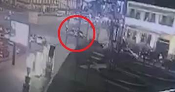 Госдума против ФСБ: в Москве столкнулись две машины с мигалками