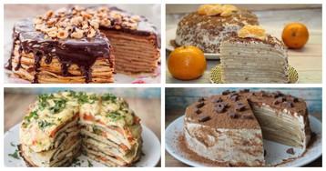 Гулять так гулять: 4 рецепта восхитительных блинных тортов