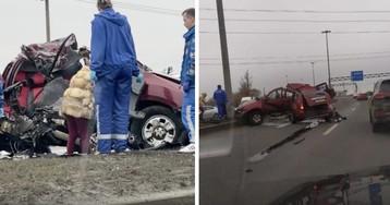 «Слишком занятая» автоледи, чью машину разорвало в ДТП, ушла от врачей