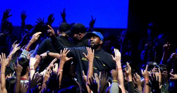Kanye West Takes 'Sunday Service' Overseas: 'God Has Come to Paris Fashion Week'