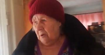 Власти засыпали дом пенсионерки, отказавшейся переехать в дом престарелых