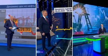 Какой такой обвал рубля? Что на федеральном ТВ сказали о падении курса