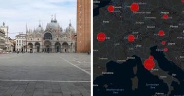 Эпидемия коронавируса: вся Италия объявлена «красной зоной»