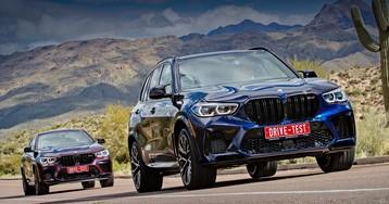 Тест-драйв: С удовольствием вибрируем в кроссоверах BMW X5 M и X6 M