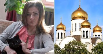 """""""Бабки воняют"""". Мария Голубкина рассказала, как сходила в храм"""