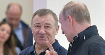 Путин присвоил Героя Труда Аркадию Ротенбергу за «особые заслуги»