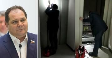 Врио губернатора застрял в лифте больницы, которую проверял после ремонта