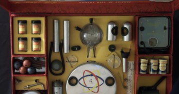 Look kids, it's a tour of the 1951 A.C. Gilbert Radioactive Atomic Energy Lab Kit, now with seven sources of radiation!