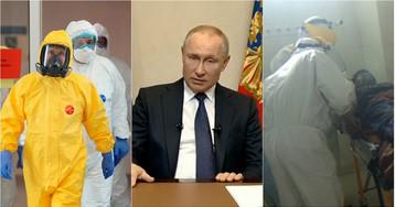 Беспрецедентные меры: что рассказал Путин во время обращения к нации