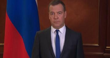 «Это совсем не игра». Медведев выступил с обращением к россиянам