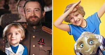 Юный актёр Даниил Муравьёв-Изотов начал сниматься на первом году жизни