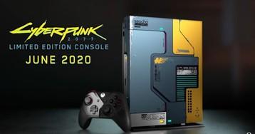 Консоль Xbox One X «Cyberpunk 2077» выйдет раньше чем игра!