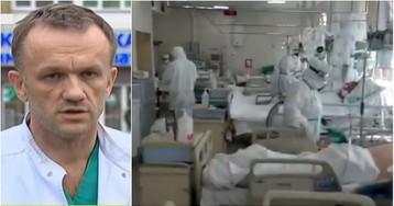 Много тяжелых: врач московской больницы снял на видео реанимацию