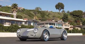 This Porsche Spyder features a Subaru boxer and a literal box of money