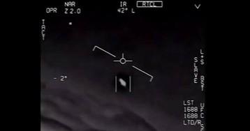 Пентагон официально опубликовал видеосъёмки НЛО